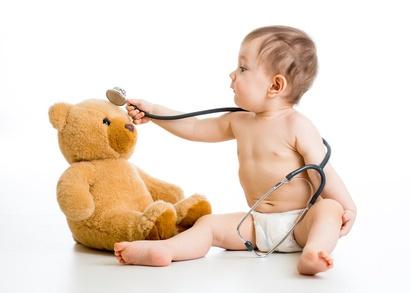 BabyTeddyStethoskop