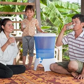 Wasserfilter Kambodscha