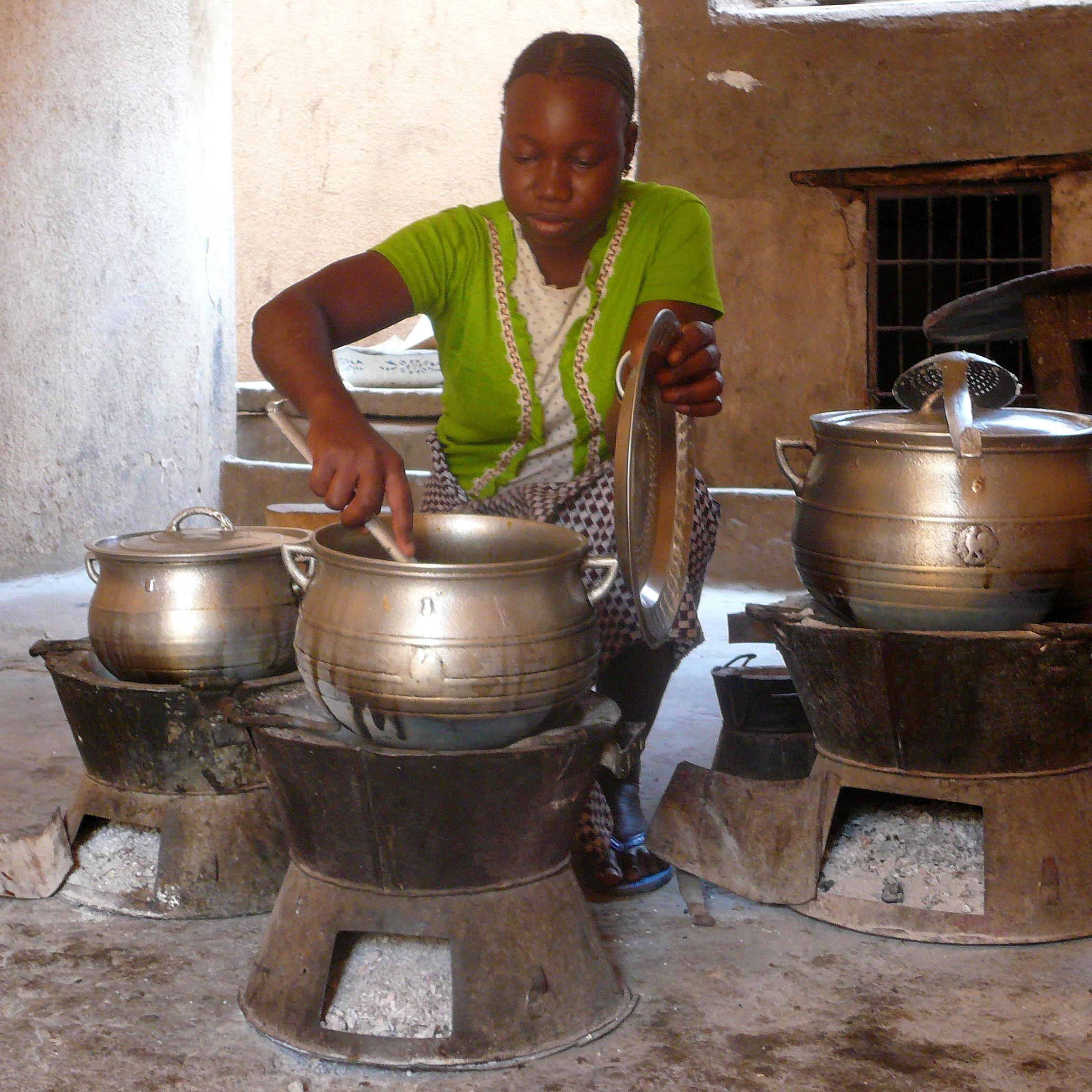 Kochöfen Uganda